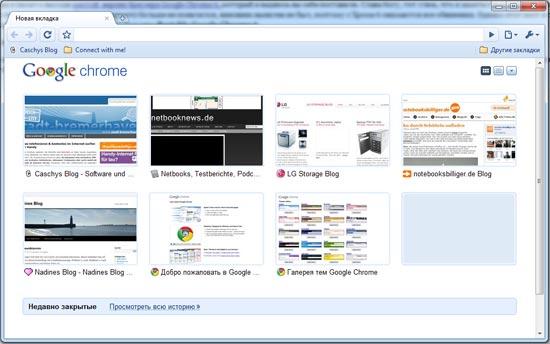 Google Chrom 6 портативный