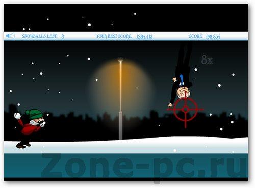 Жестокие игры в снежки