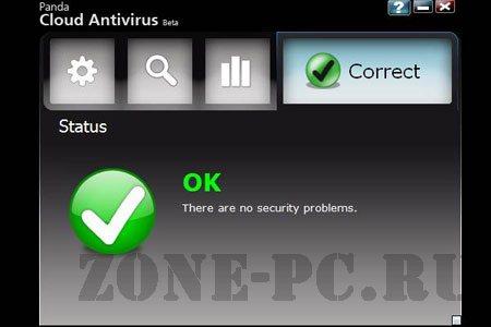бесплатный антивирус Panda Cloud Antivirus