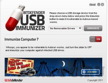 BitDefender-USB-Immunizer