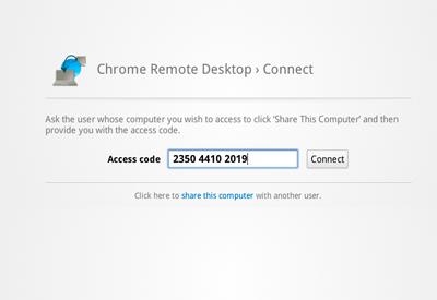 Удалённый доступ через Chrome Remote Desktop