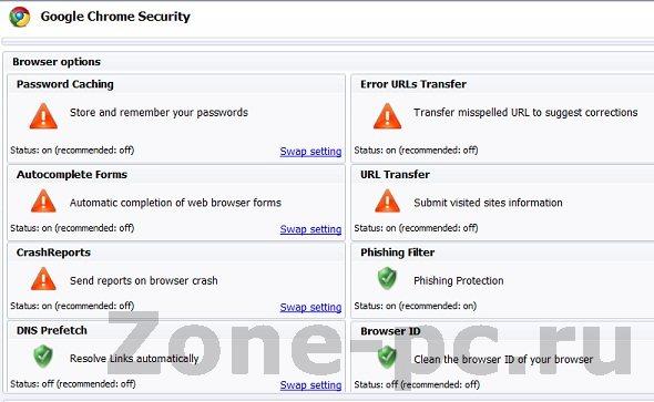 Google Clean - защита от утечки личной информации