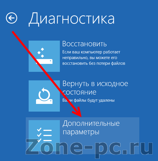 windows 8 загрузить безопасный режим