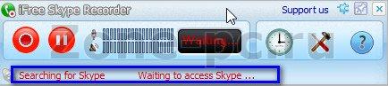 как записывать разговор в скайпе