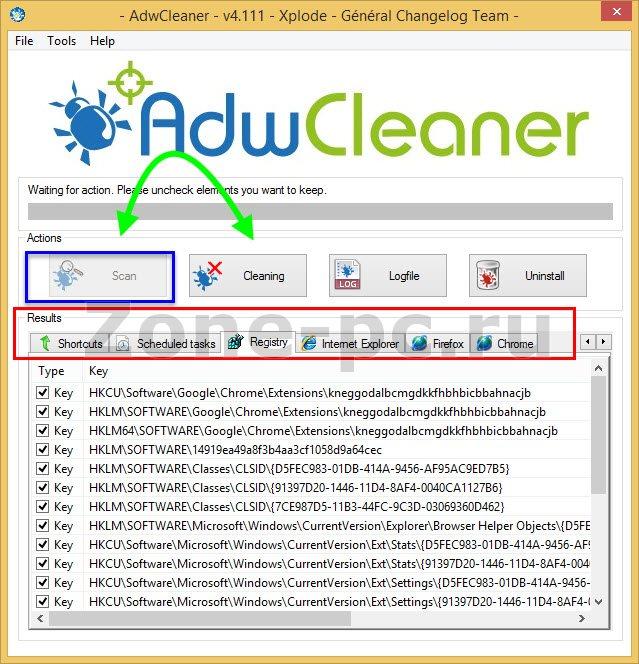 adwcleaner поможет отключить рекламу в браузерах
